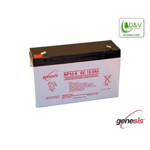Batteria Genesis 6V 10Ah