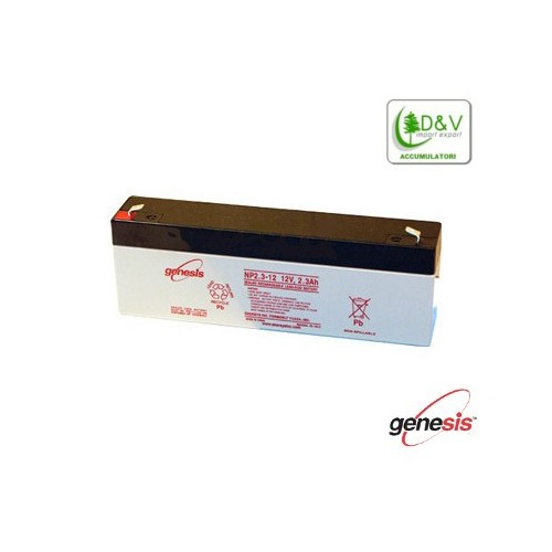 Batteria Genesis 12V 2.3Ah