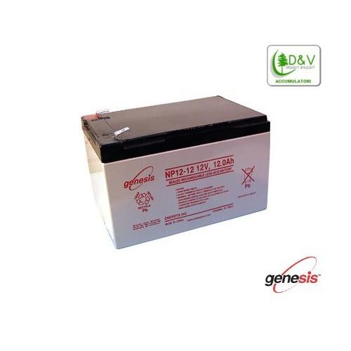 Batteria Genesis NP12-12 - 12V 12Ah