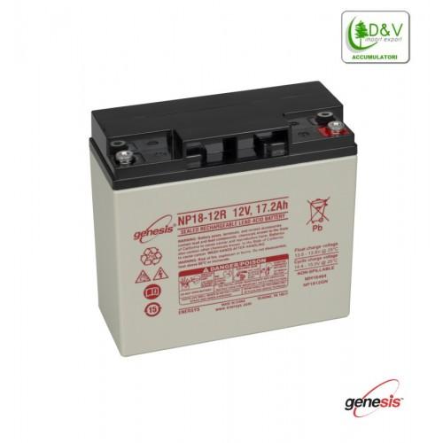 Batteria Genesis NP18-12 - 12V 18Ah
