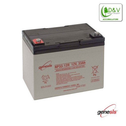 Batteria Genesis NP33-12 - 12V 33Ah