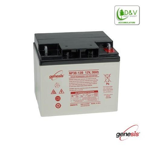 Batteria Genesis NP38-12 - 12V 38Ah