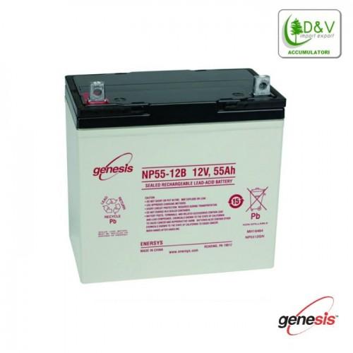 Batteria Genesis 12V 55Ah