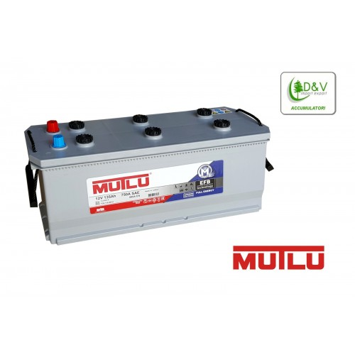 BATTERIA MUTLU 135Ah 750A (EN) EFB 12V - FULL ENERGY DEEP CYCLE